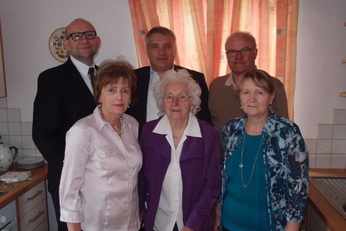 90. Geburtstag Maria Praschinger aus Gastern