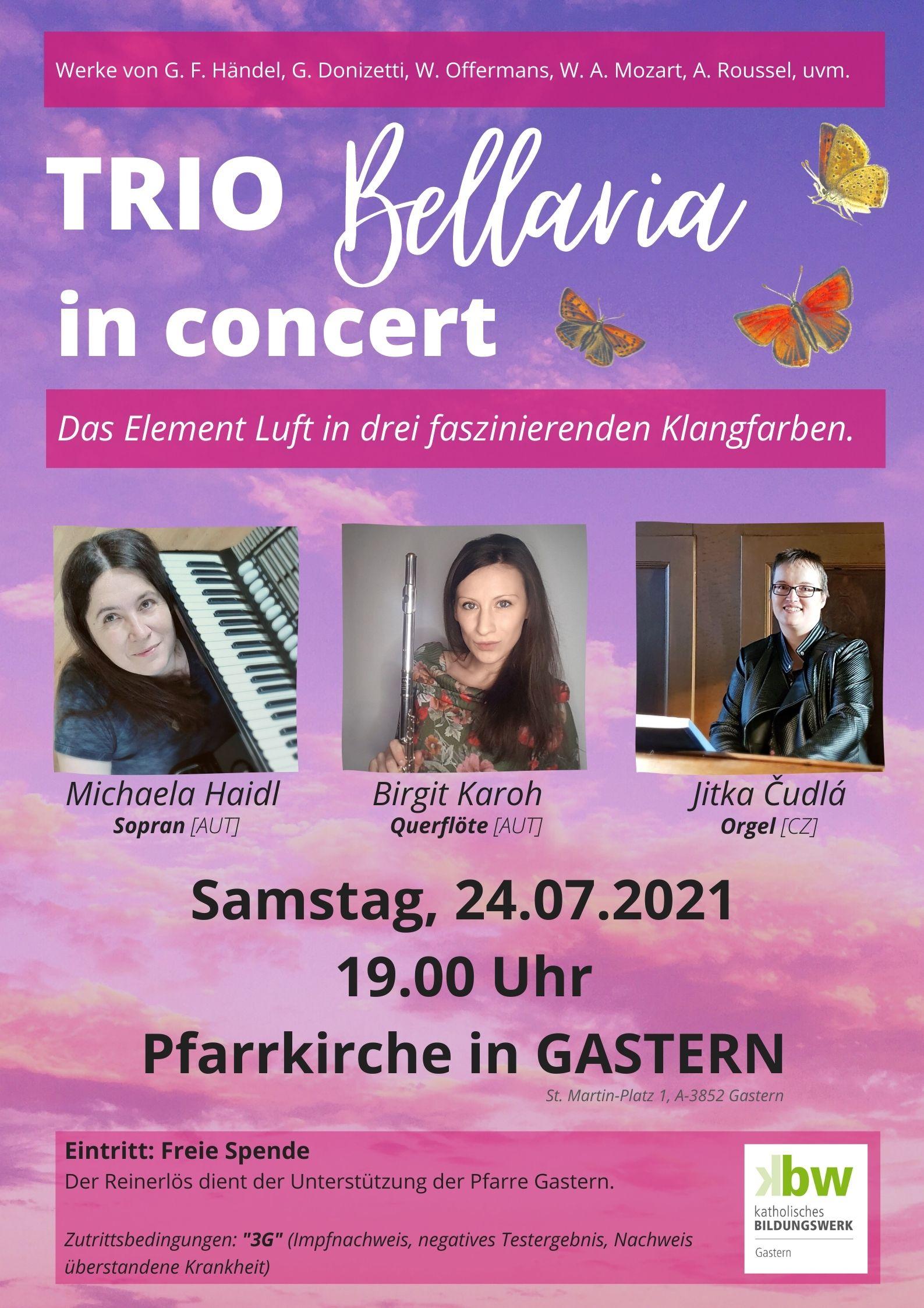 TRIO Bellaria in concert